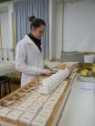 Preparando o solo para análise Laboratório de Solos da Unijuí Agosto 2012 Foto Jaqueline Peripolli