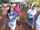 Produtora Clecir Santos mostra propriedade