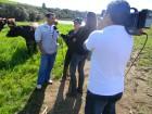 Equipe do Canal do Boi entrevista Milton e Elisabete Mello