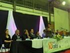 Reitora da Unicruz na cerimônia de abertura do Fórum