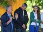 Dejair Burtet, Oldemar Weiller e Mariele Bottega da Emater/RS-Ascar