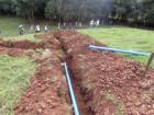 Quase pronto, sistema de irrigação financiado pelo Mais Água Mais Renda.