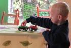 Emanoel Wildner, de três anos.