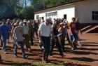 Agricultores da região noroeste chegam ao Irder.